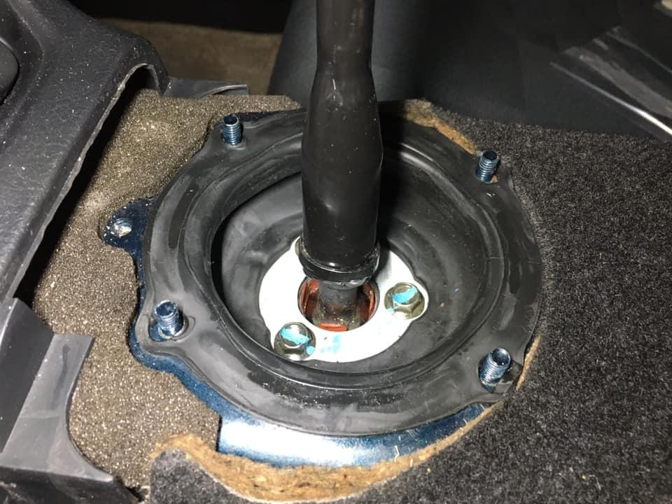 シフトレバーのガタつき修理_200204_0030